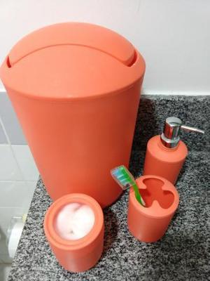 Kit banheiro - 4 peças
