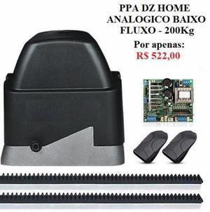 Kit motor - portão eletrônico deslizante - automatizador