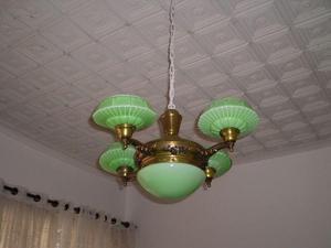 Luminária de teto, anos 50