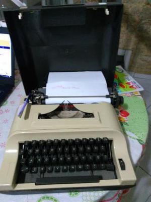 Maquina escrever antiga decorativa