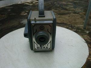 Maquina fotografica bieka (decada 60), seminova