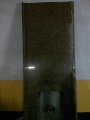 Pia mármore com suporte ferro