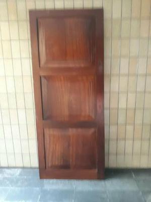 Porta madeira maciça jatobá