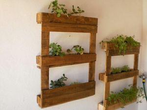 Extremamente Porta vaso (horta/jardim) de paletes, rústico em Osasco [OFERTAS  TP66