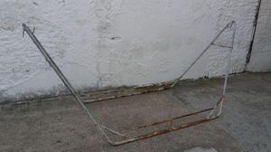 Suporte metal dobrável para rede de balanço super