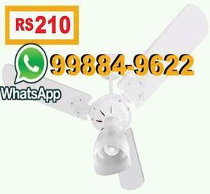 Ventilador de teto + inst. inclusa por apenas 210 reais