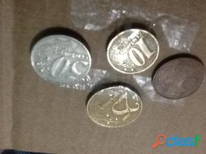 Combo! 4 moedas ano 1998 (ler descrição)