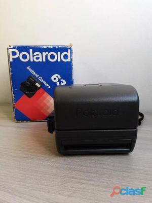 Câmera fotográfica polaroid 636 closeup