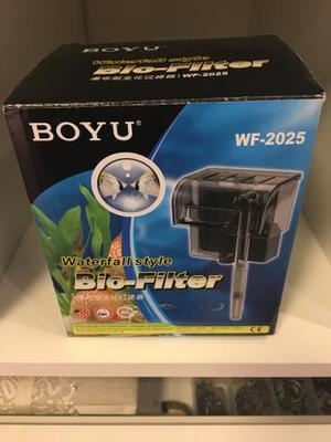 Boyu filtro externo wf-2025 - 300 l/h - 220v + aquário