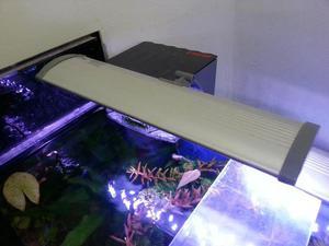 Luminária led ista rgb 30cm