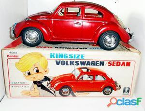 Carrinho antigo da marca bandai volkswagem na caixa perfeito.