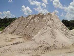 Areia lavada fina média grossa e areola não cobramos frete