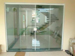 Box de banheiro, janelas e portas de blindex, espelhos, etc