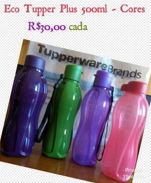 Eco tupper garrafa 500 ml tupperware