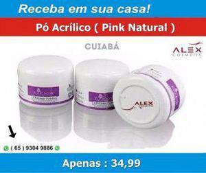 Pó acrílico ezflow pink / clear (bazar mt)