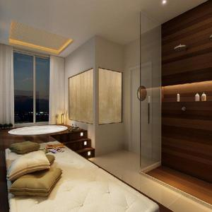 1 qto no residencial com servicos fusion work live itaguai