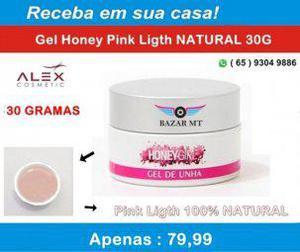 Alex cosmetic) gel honey pink ligth 30gramas