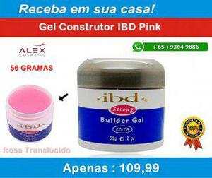 Alex cosmetic) gel ibd 56 gramas pink