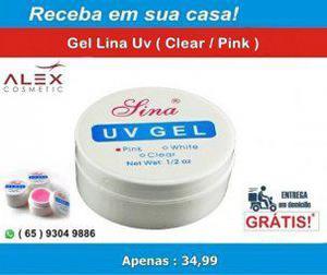 Alex cosmetic) gel lina uv (clear / pink)