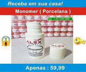 Alex cosmetic) monomer para unhas (porcelana)
