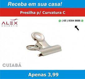 Alex cosmetic) presilha p/ curvatura c