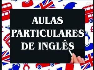 Aulas particulares inglês