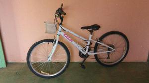 Bicicleta caloi ceci aro 20 10 marchas e cestinha semi-nova