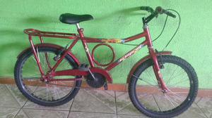 Bicicleta barra circular infantil