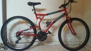 Bicicleta com 21 marchas aro 26
