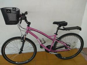 Caloi easy rider rosa aro 700