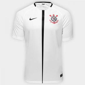 Camisa corinthians nike - home branca - 2017