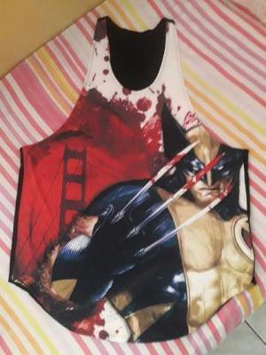 Camiseta regata masculina heróis fitness academia malhar em ... 3669b7f35e2