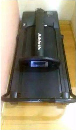 Esteira elétrica athletic advanced 2 nova com pouco uso