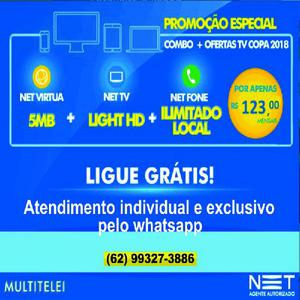 Tv internet e fone fixo me ligue ou chame no whatsapp 62