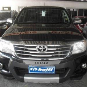 Toyota hilux cd srv 4x4 2.7 flex 16v aut. 2014