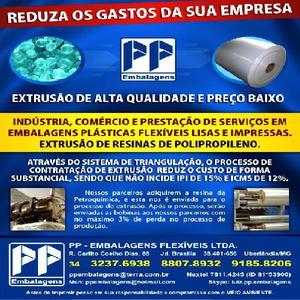 Embalagens plasticas lisas e impressas