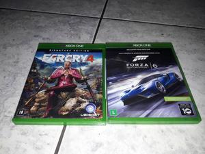2 jogos originais xbox one