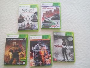 5 jogos xbox 360 promoção