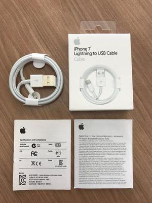 Acessórios + cabo lightning para iphone de 1 metro
