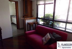 Cr108176 - apartamento 1 dorm, morumbi - são paulo/sp