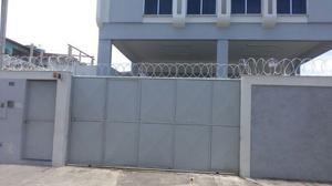 Cerca de segurança - concertinas dupla galvanizada ou