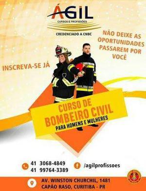 Curso de bombeiro cívil