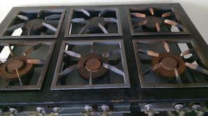 Fogão industrial 6 bocas/forno