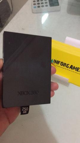 Hd 250gb para xbox 360 original