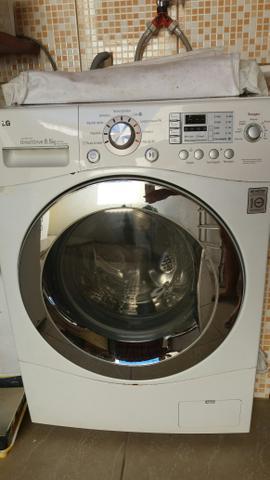 Maquina de lavar e secar (lavadora) lg lava e seca 8.5 kg