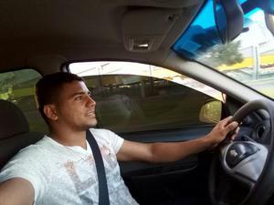 Motorista disponível viajar pra qualquer lugar