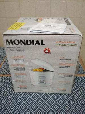 ca446f3a3 Panela elétrica mondial bianca rice 4 nova lacrada com nf em Rio De ...