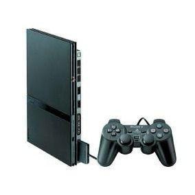Playstation 2 - 80,00 - ps2 com todos os cabos, 1 controle e