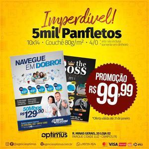 Promoção!!! 5 mil panfletos r$ 99,99