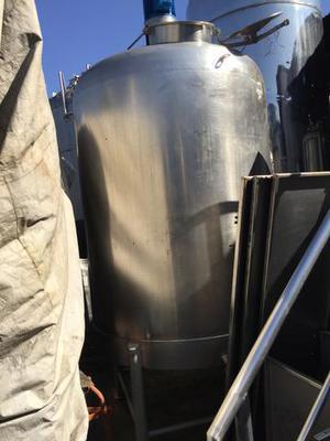 Tanque aço inox, 4.000 litros, com misturador